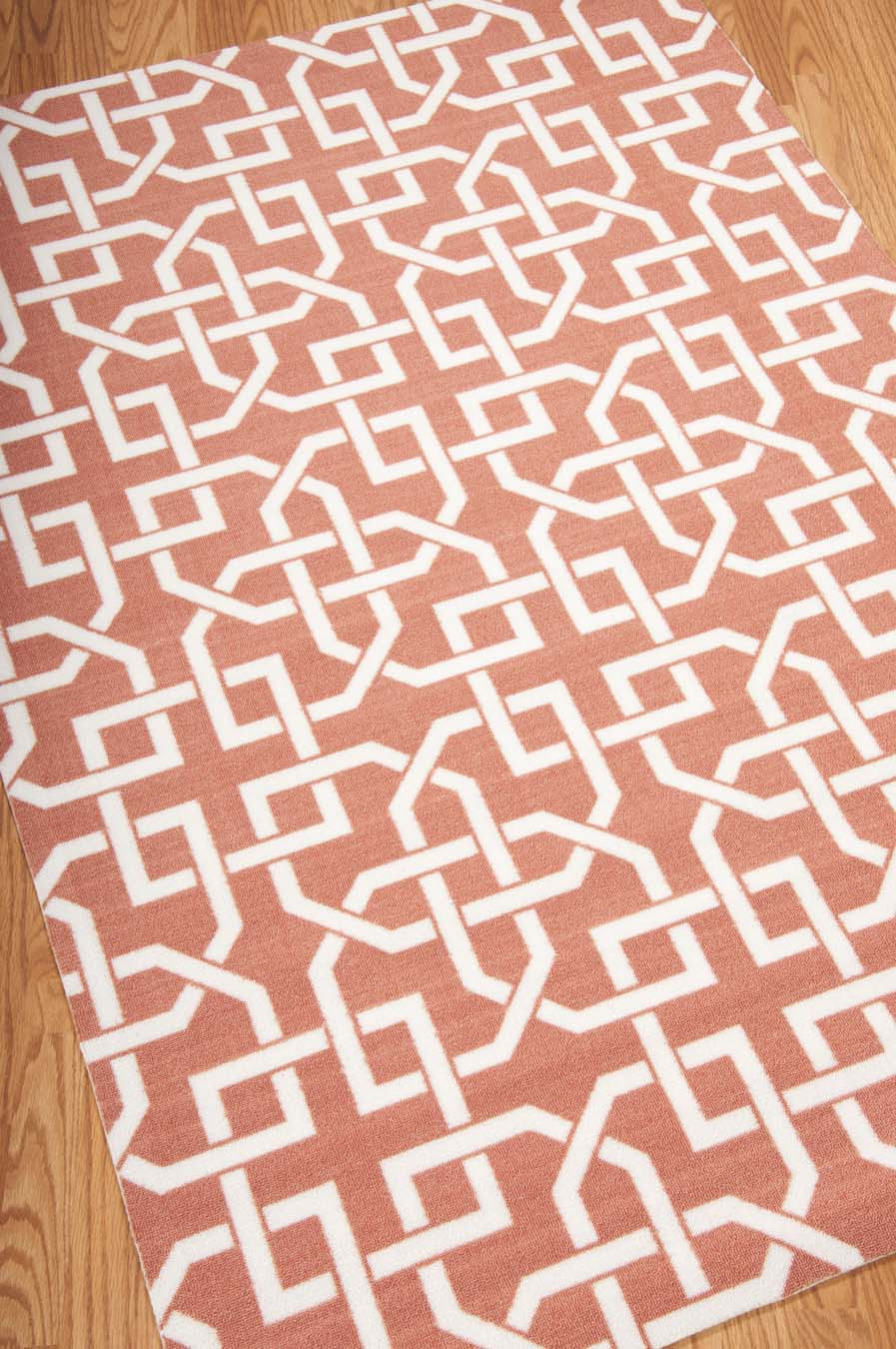 Nourison Home And Garden RS090 Rust Rug