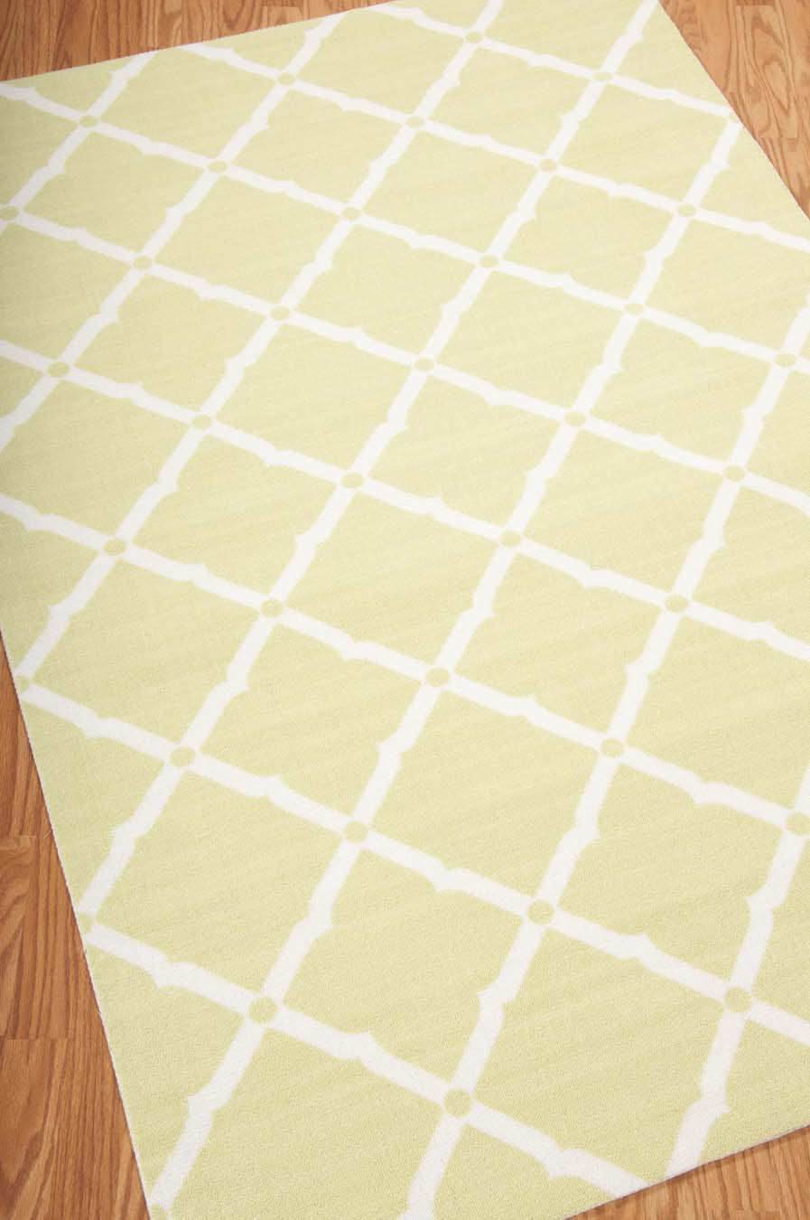Nourison Home And Garden RS091 Light Green Rug