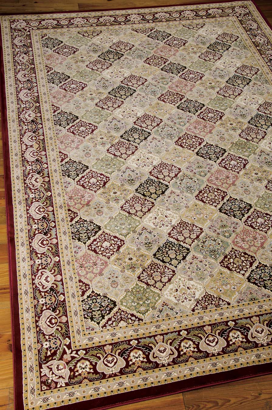 Nourison KI11 Antiquities ANT02 Multi Rug