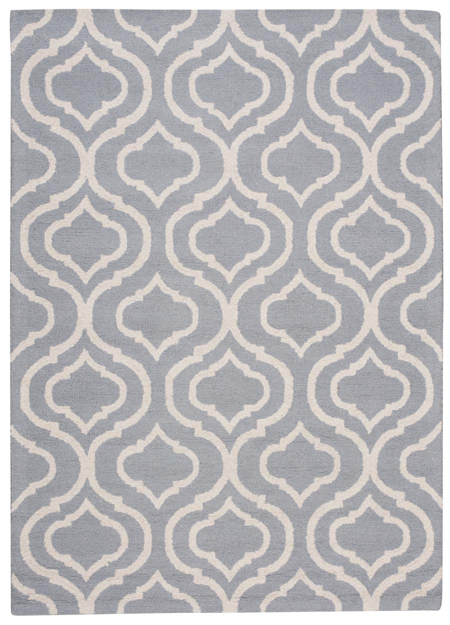 Nourison Linear LIN15 Light Blue Rug