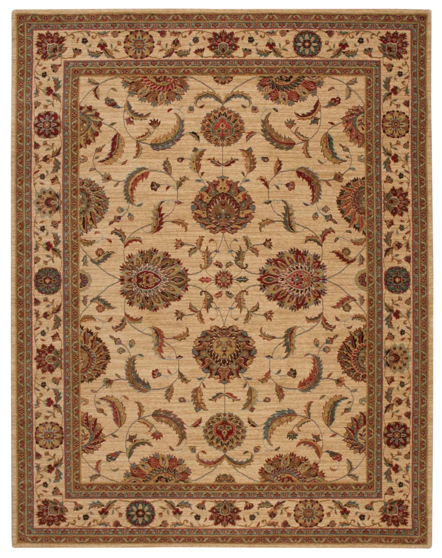 Nourison Living Treasures LI04 Ivory Rug