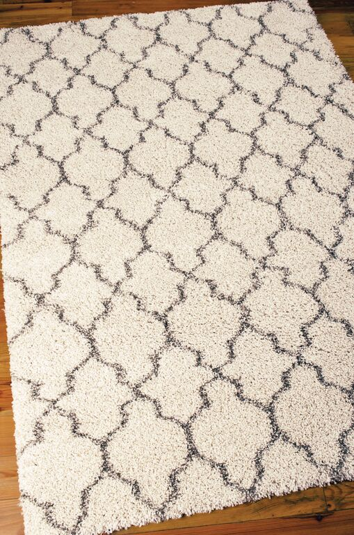 Exceptional Nourison Amore AMOR2 Cream Rug