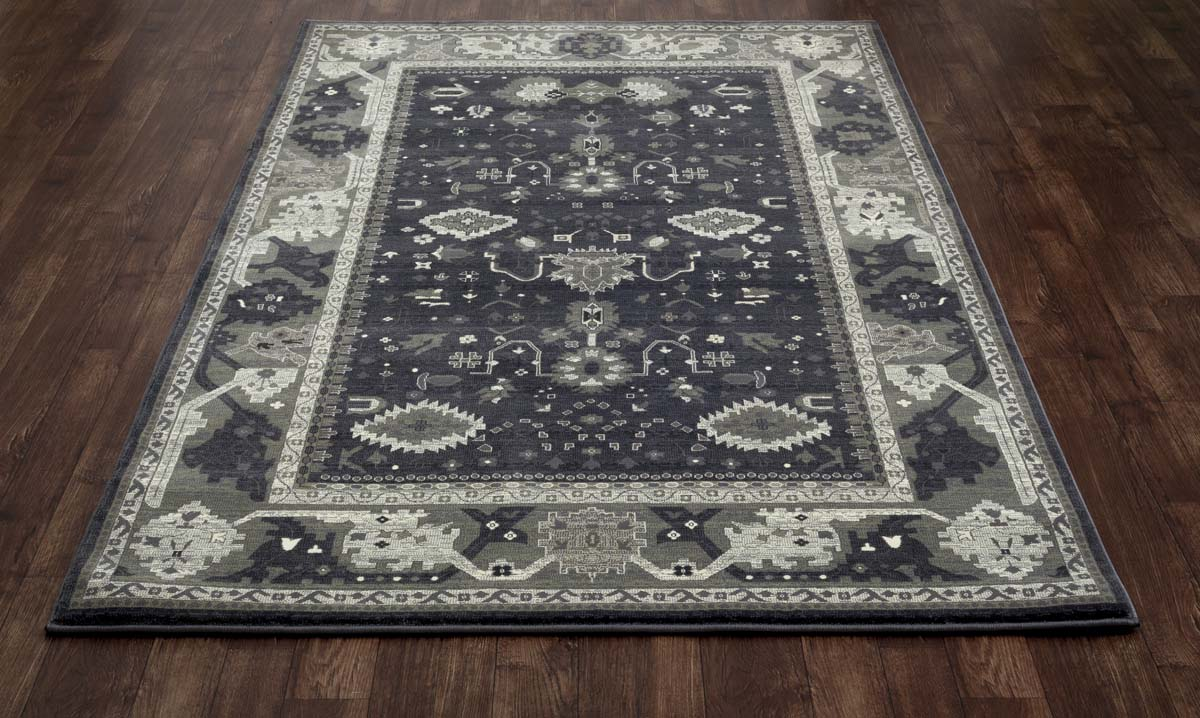 Jewel Intent Gray Rug