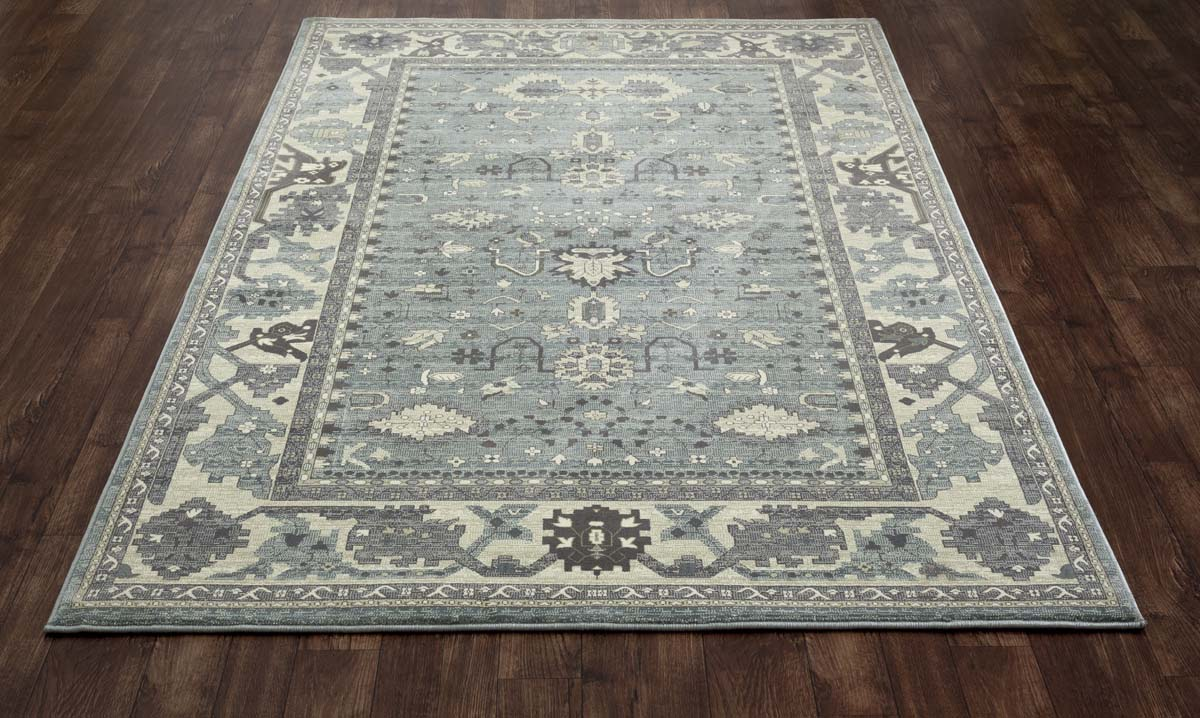Jewel Intent Aqua Rug