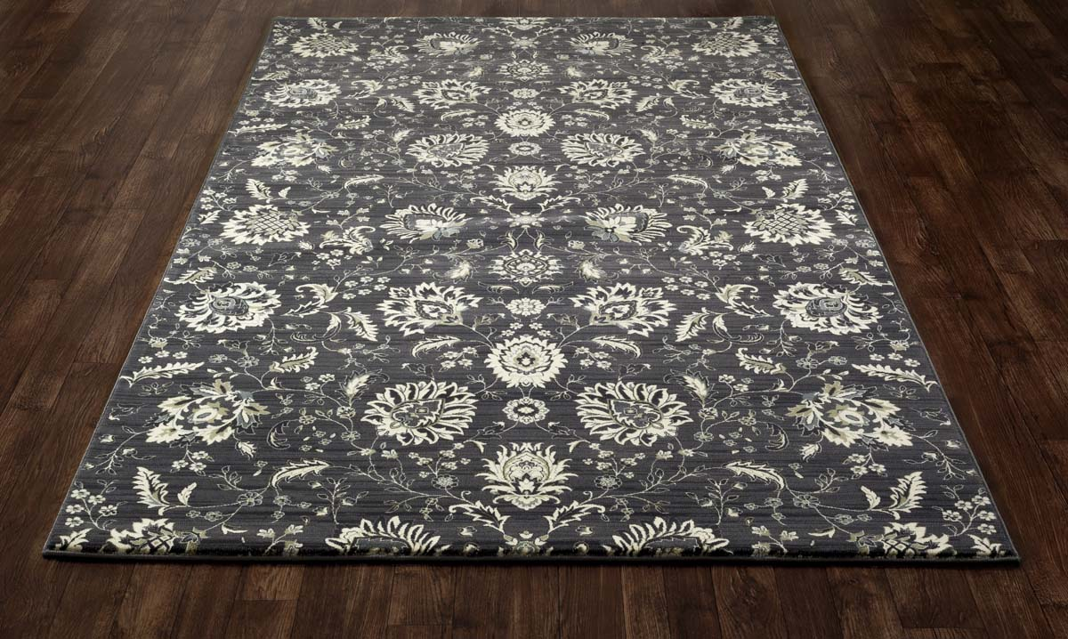 Jewel Grow Forth Gray Rug