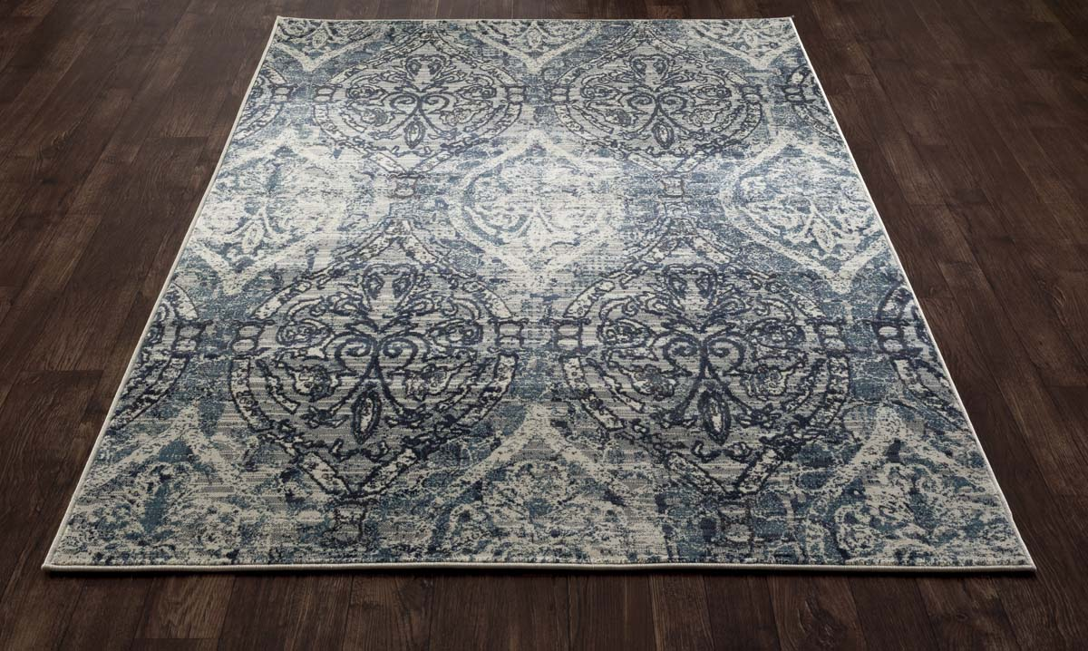 Allure Elizabeth Steel Blue Rug