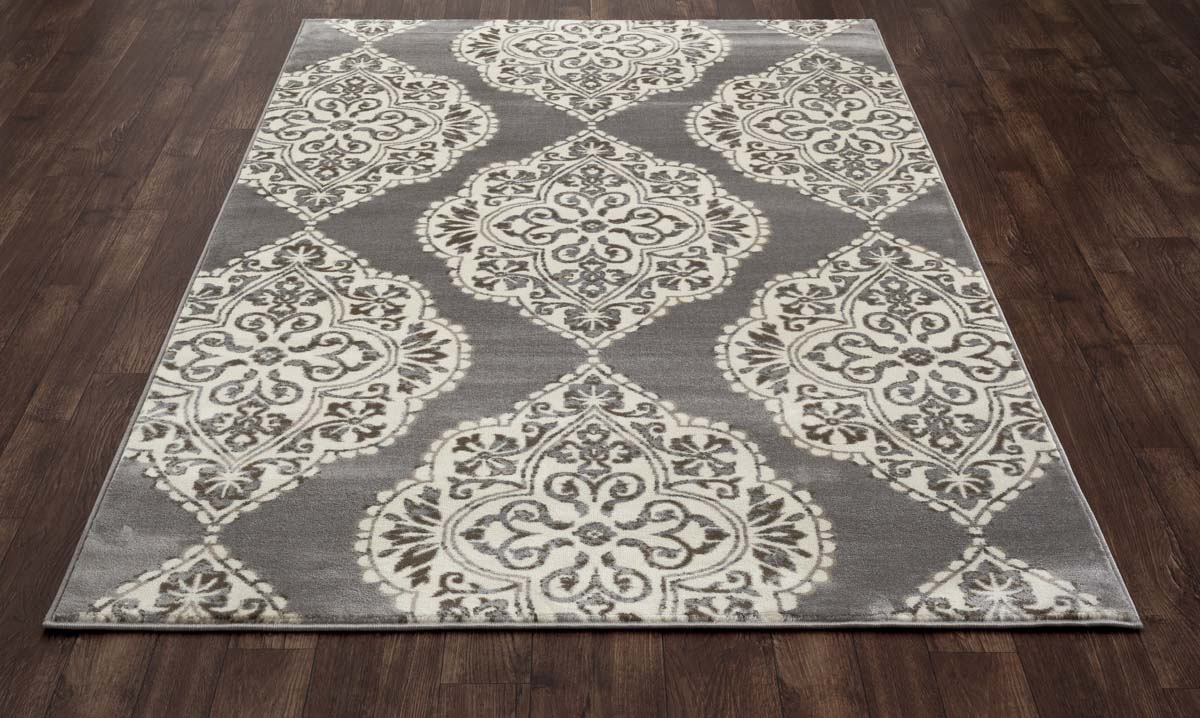 Trinity Medallion Gray Rug
