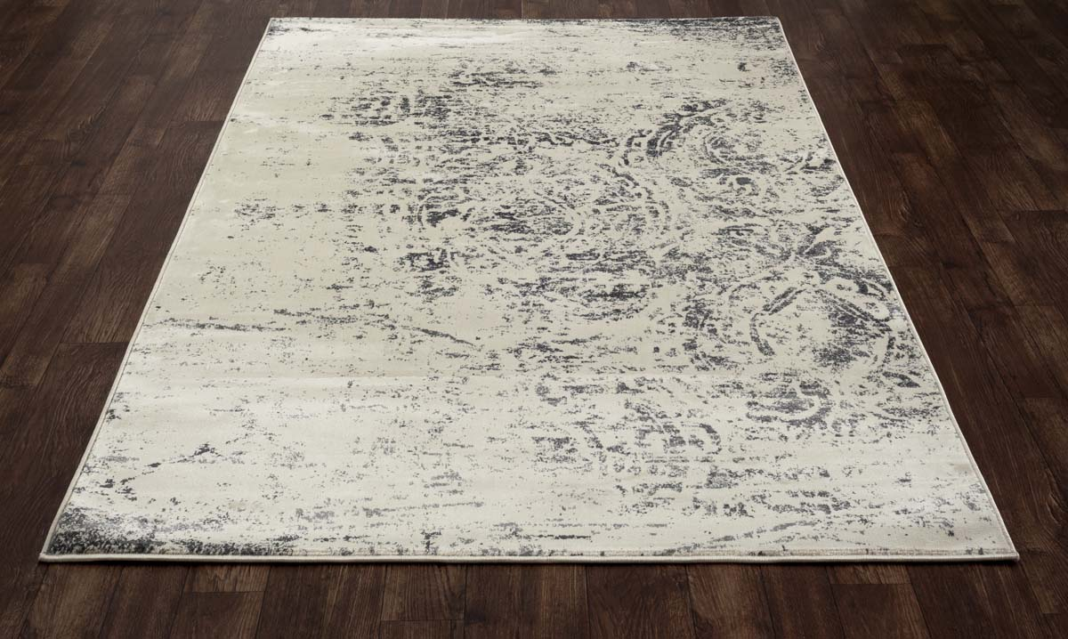 Allure Weathered Block Gray Rug