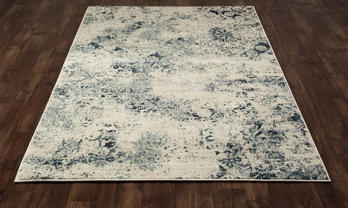 Allure Cumulus Steel Blue Rug