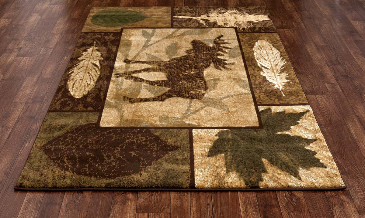 Lakota Moose Creek Brown Rug