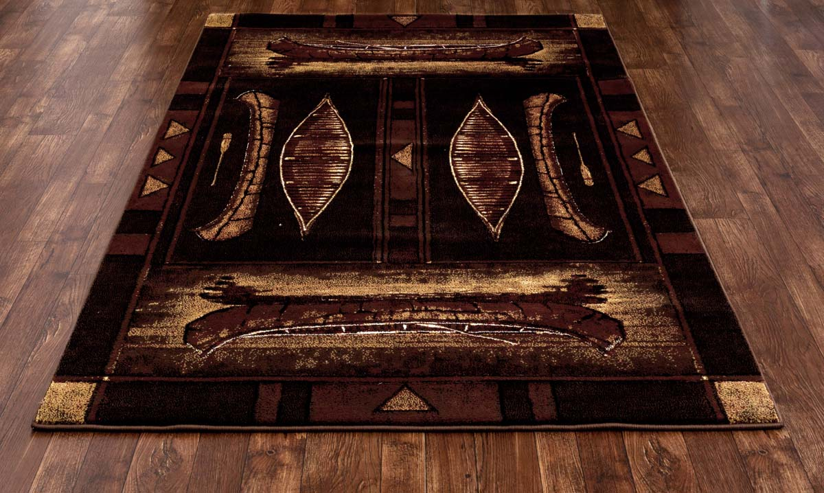 Lakota Hudson Brown Rug