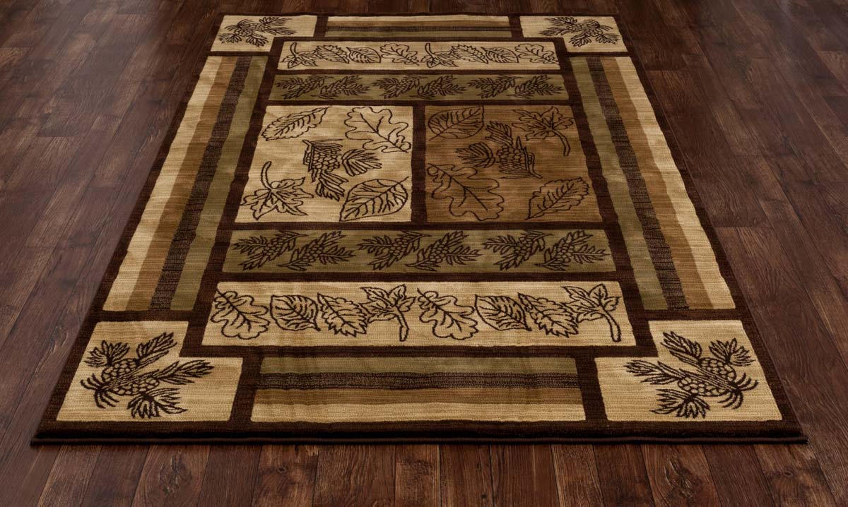 Lakota Brown Valley Brown Rug