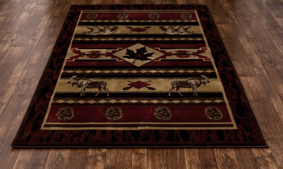 Lakota Acadian Adventure Brown Rug