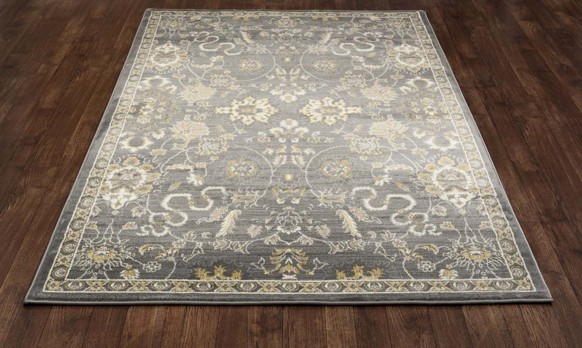 Malvern Bouquet Gray Rug