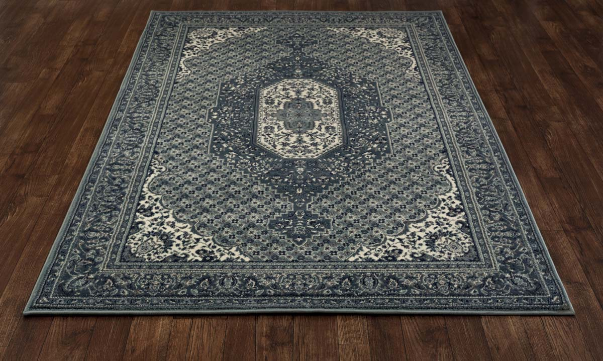 Malvern Downton Blue Rug