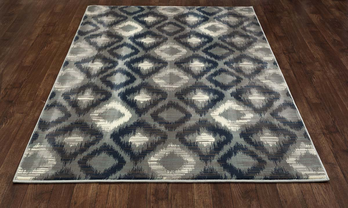 Newtown Traveler Aqua Rug