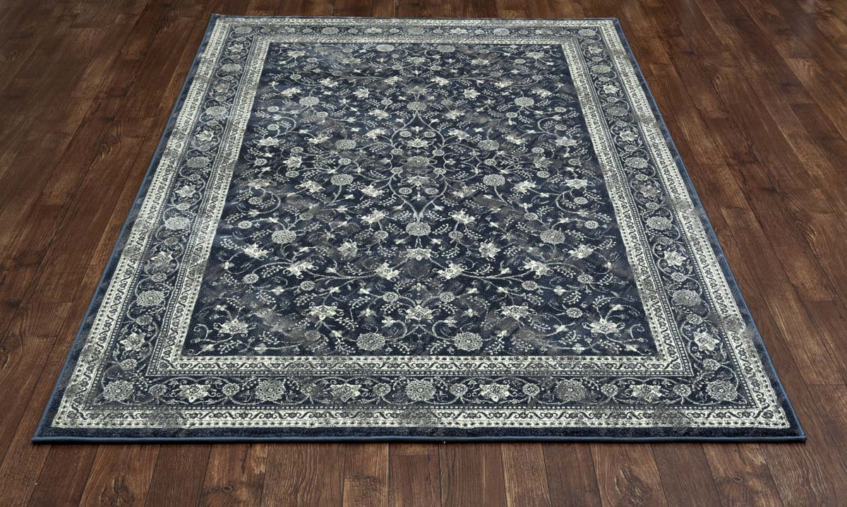 Clinton Evangeline Steel Blue Rug
