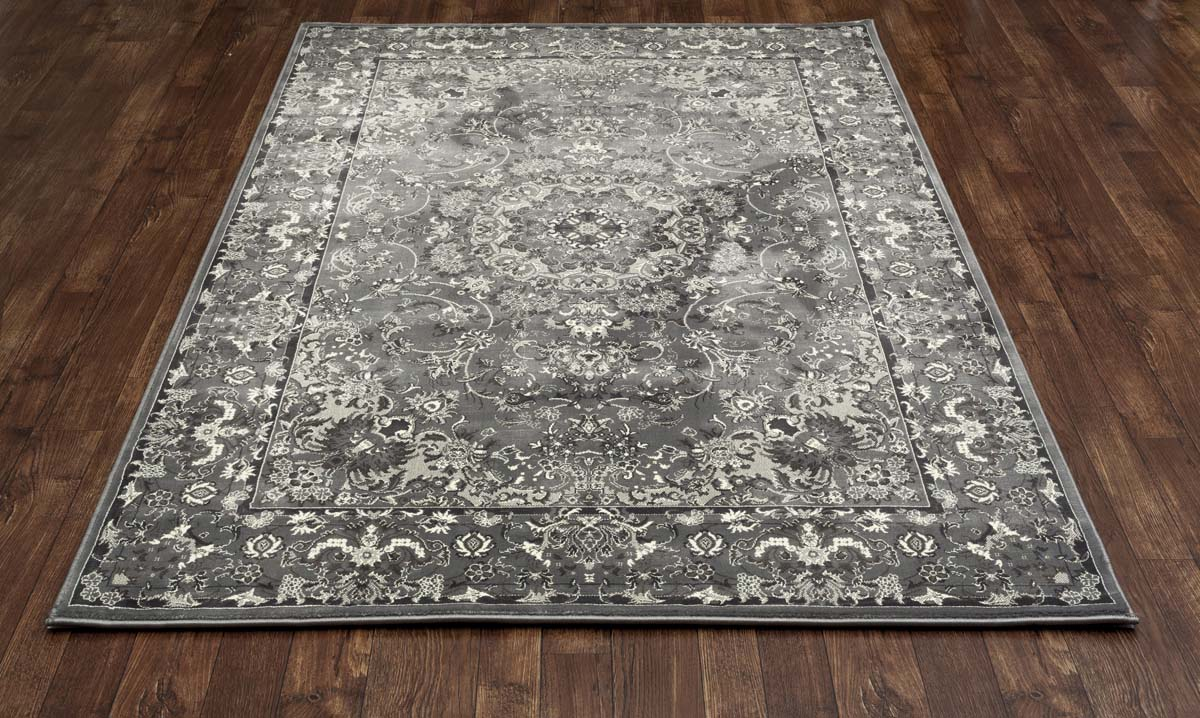 Clinton Regina Grey Rug