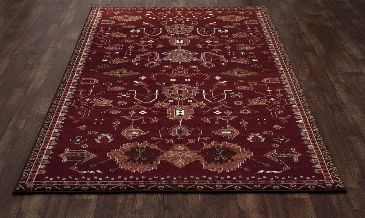 Trinity Oasis Red Rug
