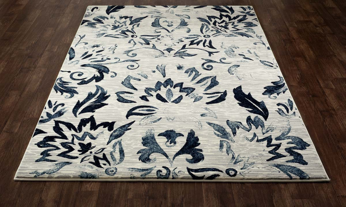 Regency Faded Beauty Navy Rug