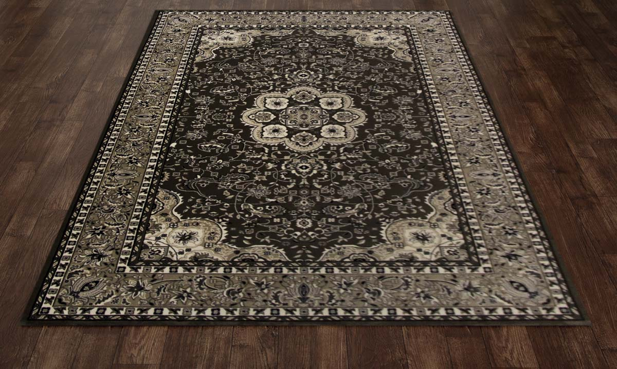 Lancaster Center Glow Lt. Brown Rug