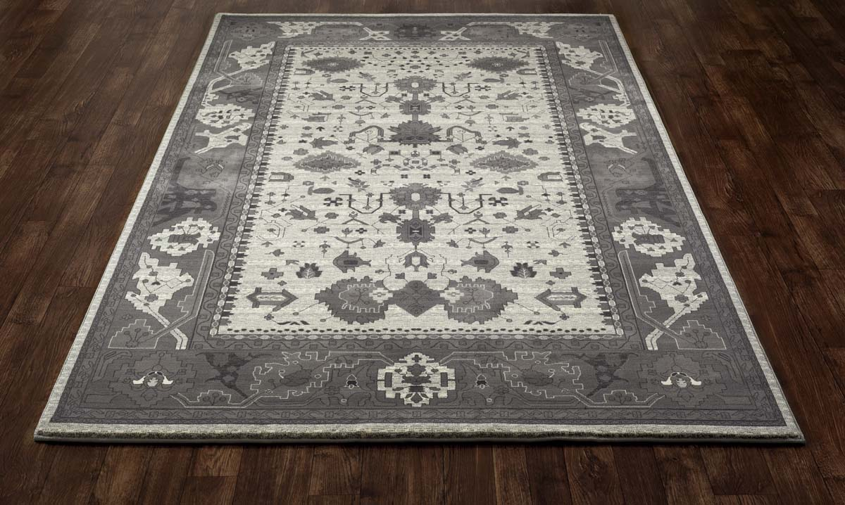 Jewel Intent Cream Rug