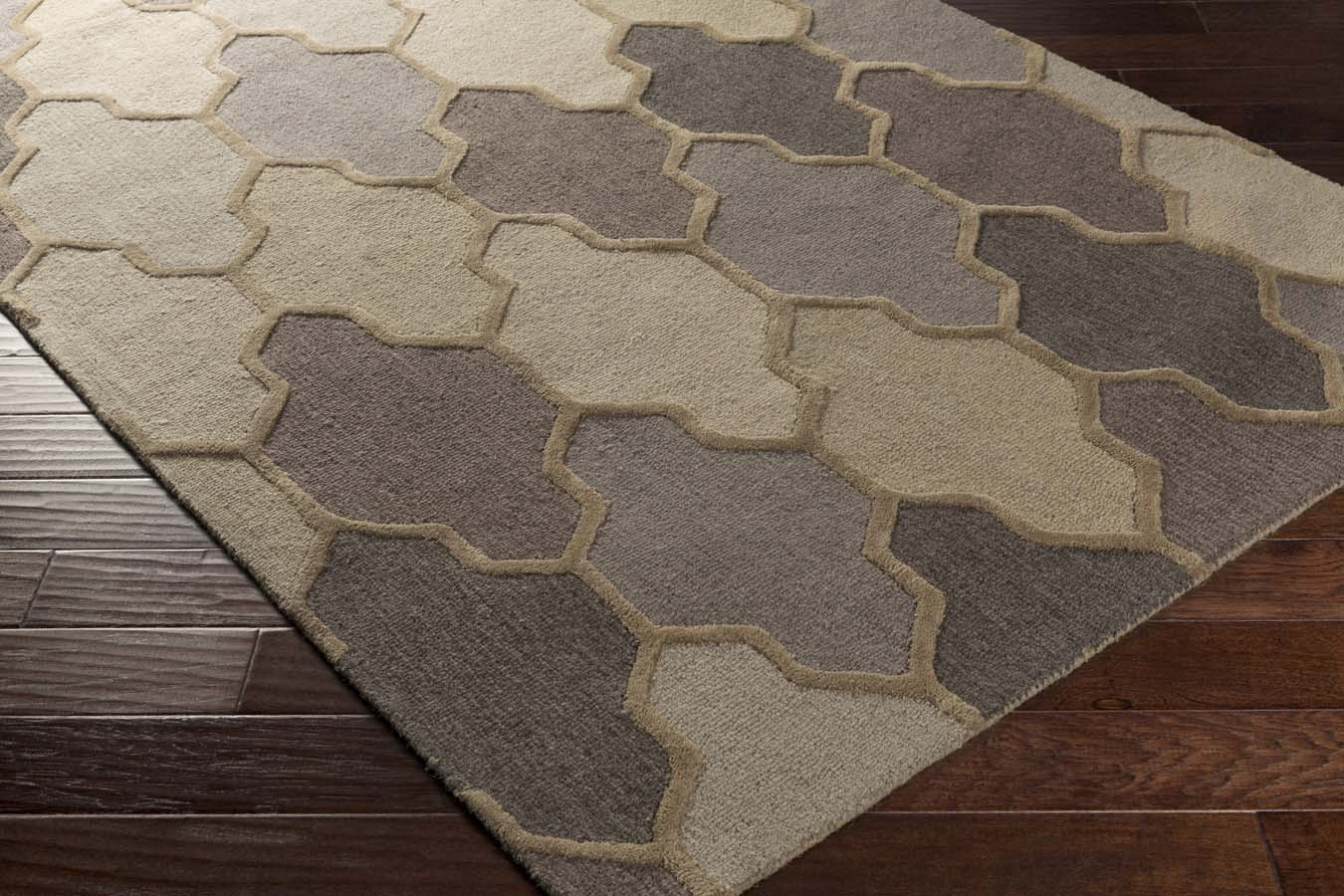 Artistic Weavers Pollack AWAH-2037 Morgan Gray Multi Rug