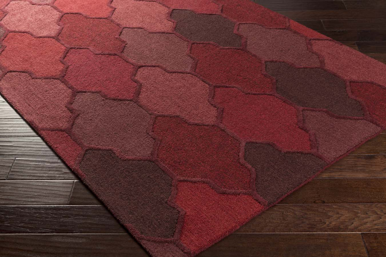 Artistic Weavers Pollack AWAH-2040 Morgan Red Multi Rug