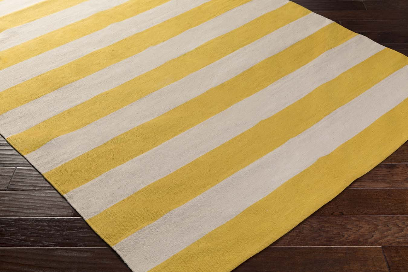 Artistic Weavers CITY PARK  AWCP-3068 Lauren Yellow/Ivory Rug