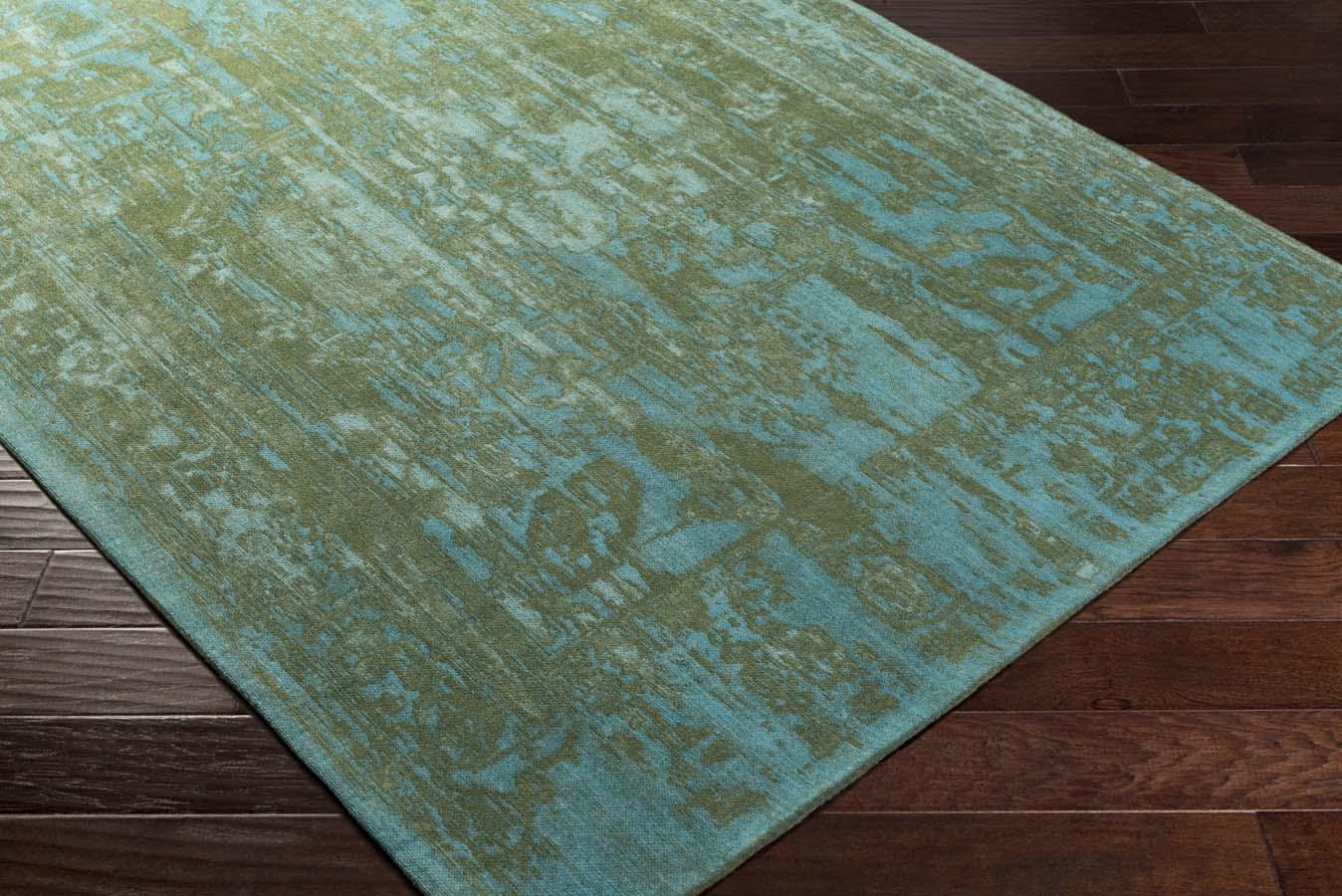 Artistic Weavers Elegant Awet 3069 Maya Green Teal Rug