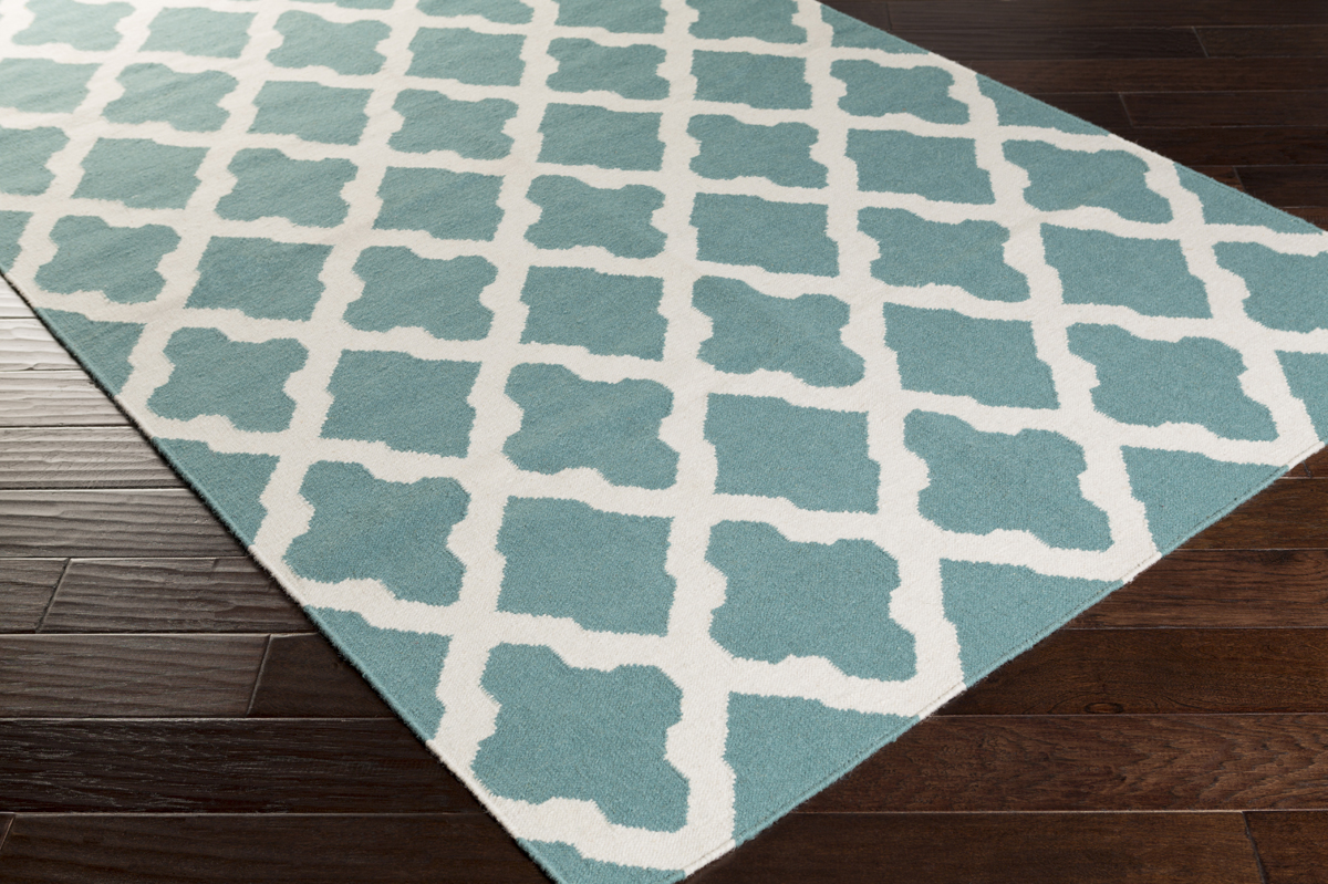artistic weavers york olivia awhd1006 teal/white area rug