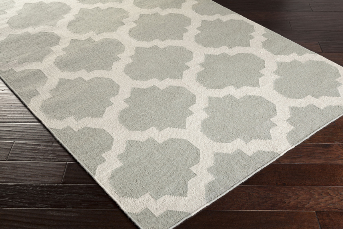Artistic weavers york harlow awhd1033 grey white area rug for Area rugs new york