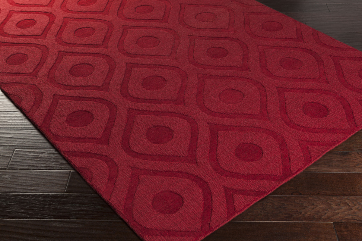Artistic Weavers Central Park Zara Awhp4001 Red Area Rug
