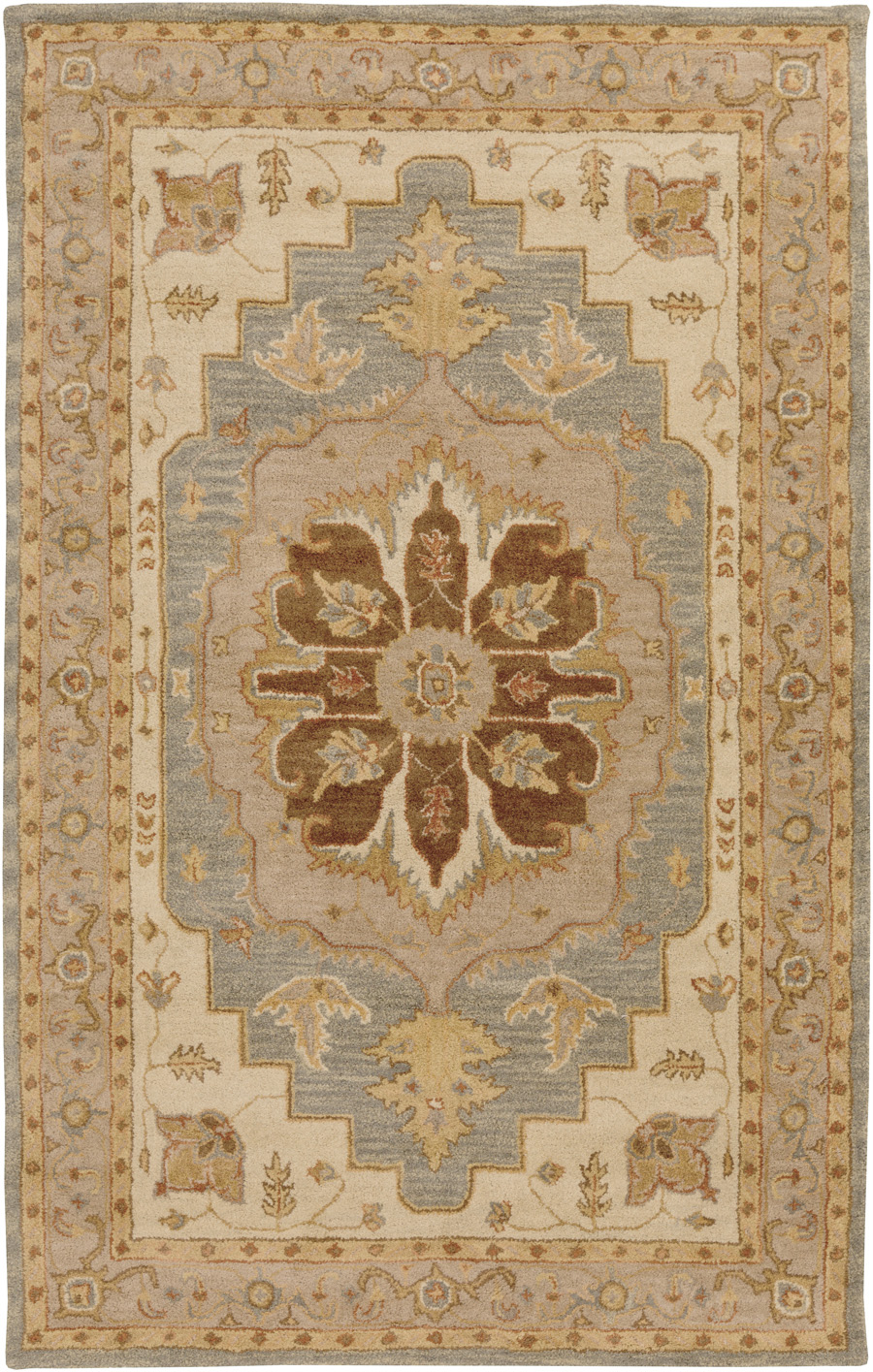 Artistic Weavers Middleton Ansley AWHR2055 Brown/Ivory Area Rug