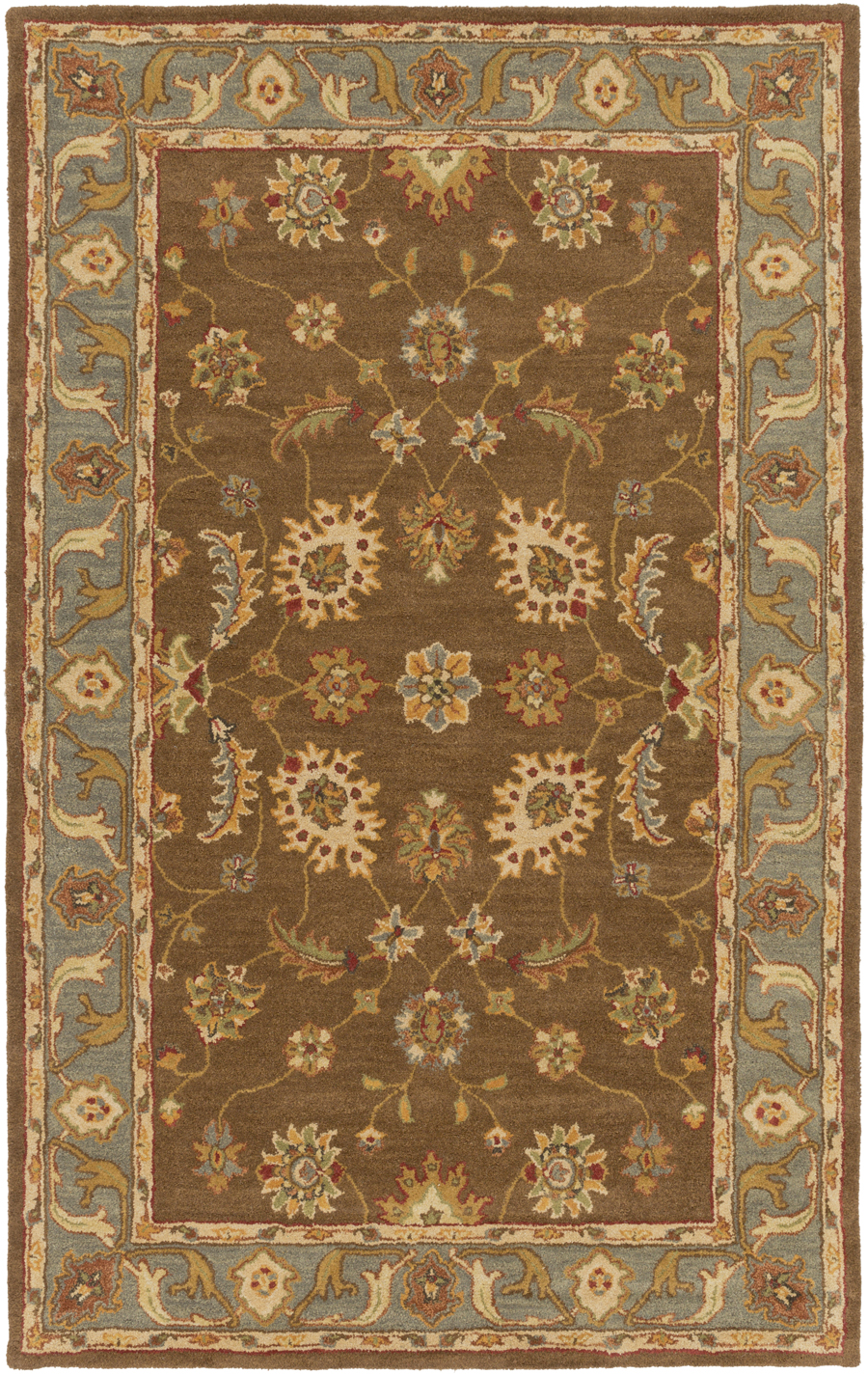 Artistic Weavers Middleton Emerson AWHR2060 Brown/Light Blue Area Rug