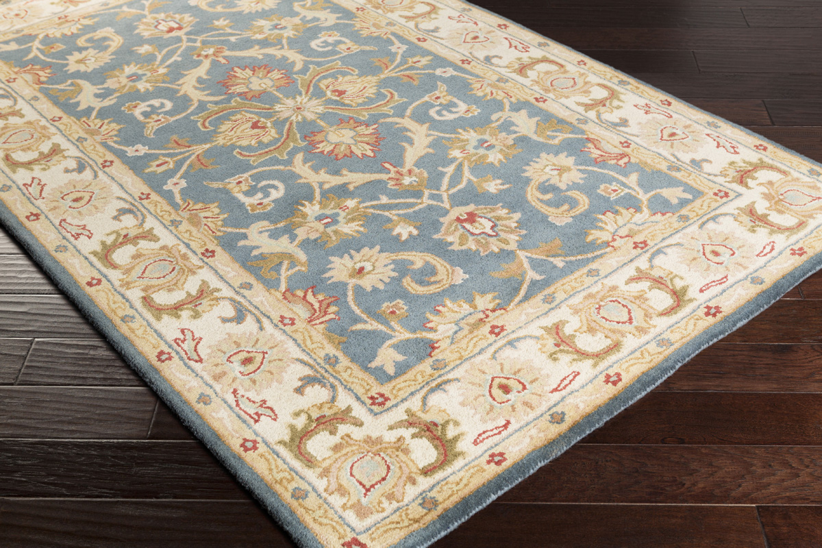 Artistic Weavers Oxford Aria Awhs2011 Teal Beige Area Rug