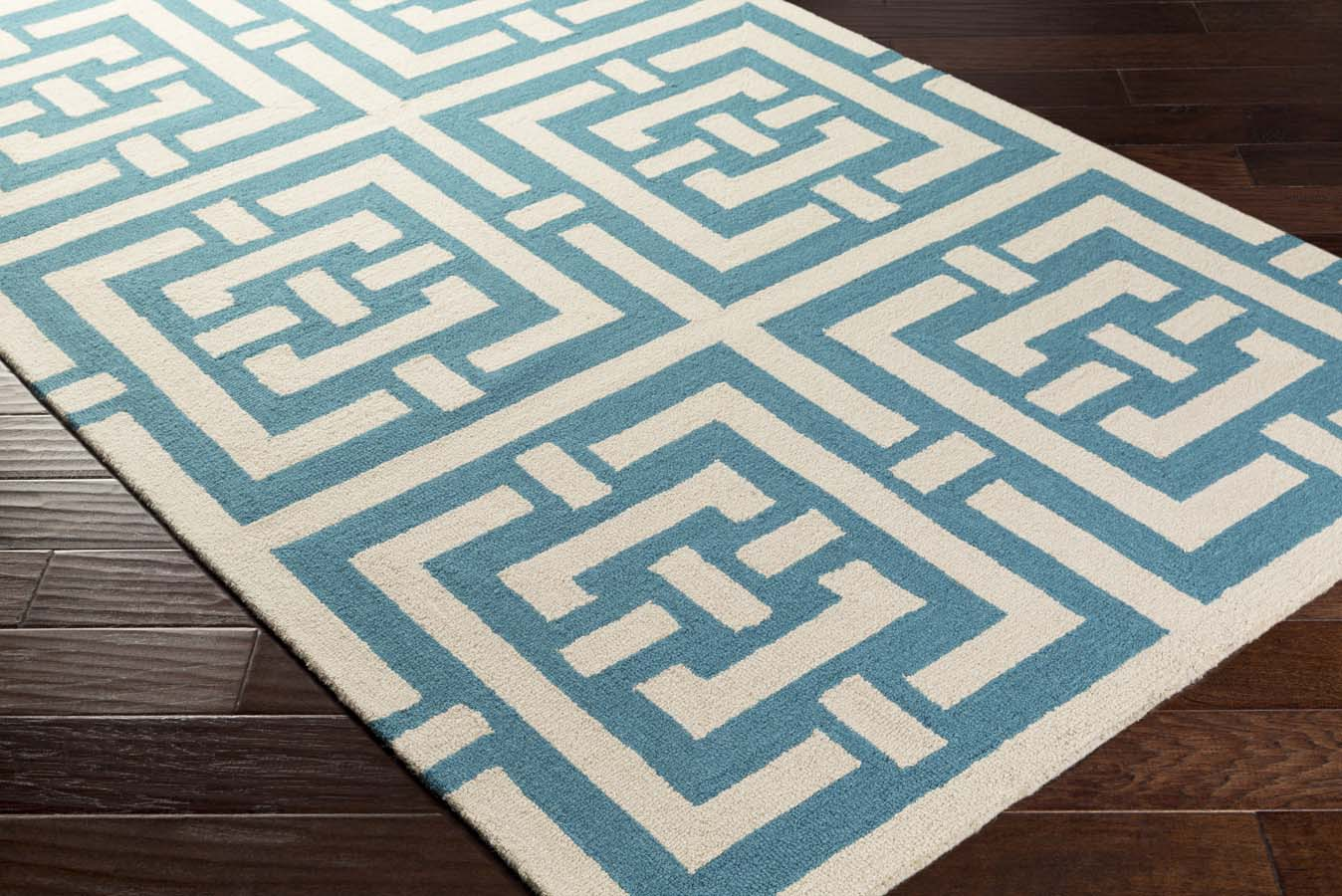 Artistic Weavers Impression AWIP-2188 Libby Teal/Ivory Rug
