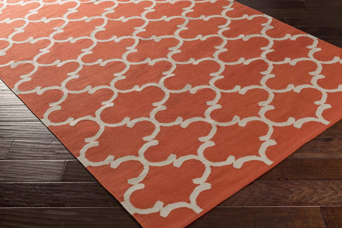 Artistic Weavers Vogue AWLT-3052 Lola Coral/Ivory Rug