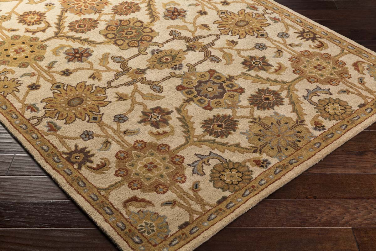 Artistic Weavers Middleton AWMD-2075 Victoria Ivory Gold Rug