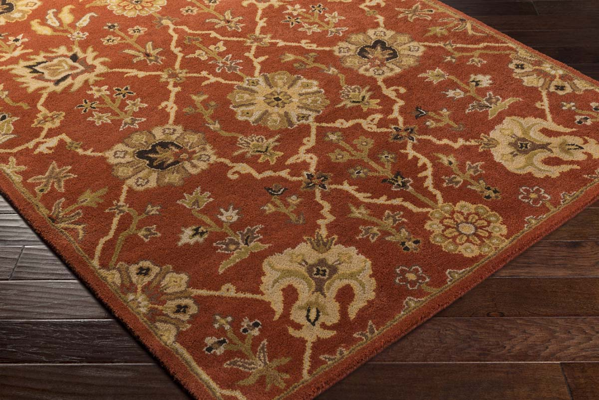 Artistic Weavers Middleton AWMD-2087 Allison Rust Gold Rug