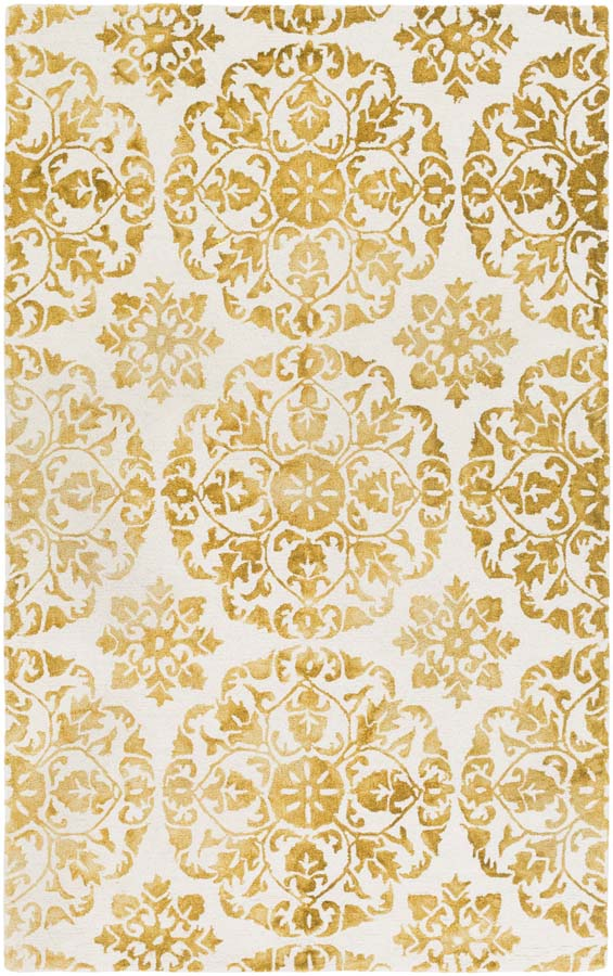 Artistic Weavers Organic Awog 2295 Danielle Yellow Off White Rug