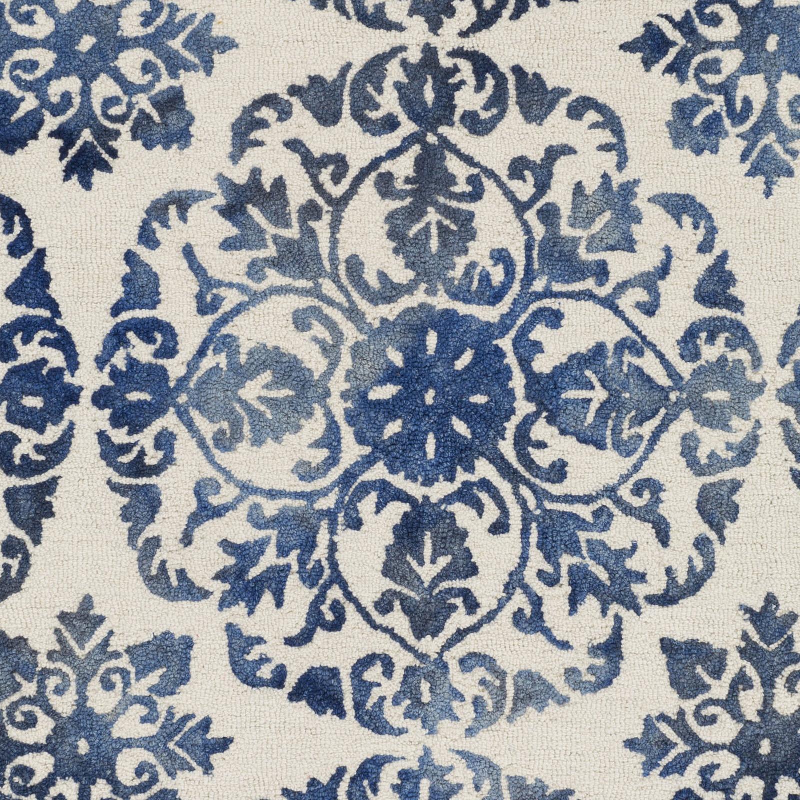 Chloe Rug From Organic By Artistic Weavers: Artistic Weavers ORGANIC AWOG-2296 Danielle Blue/Off-White Rug