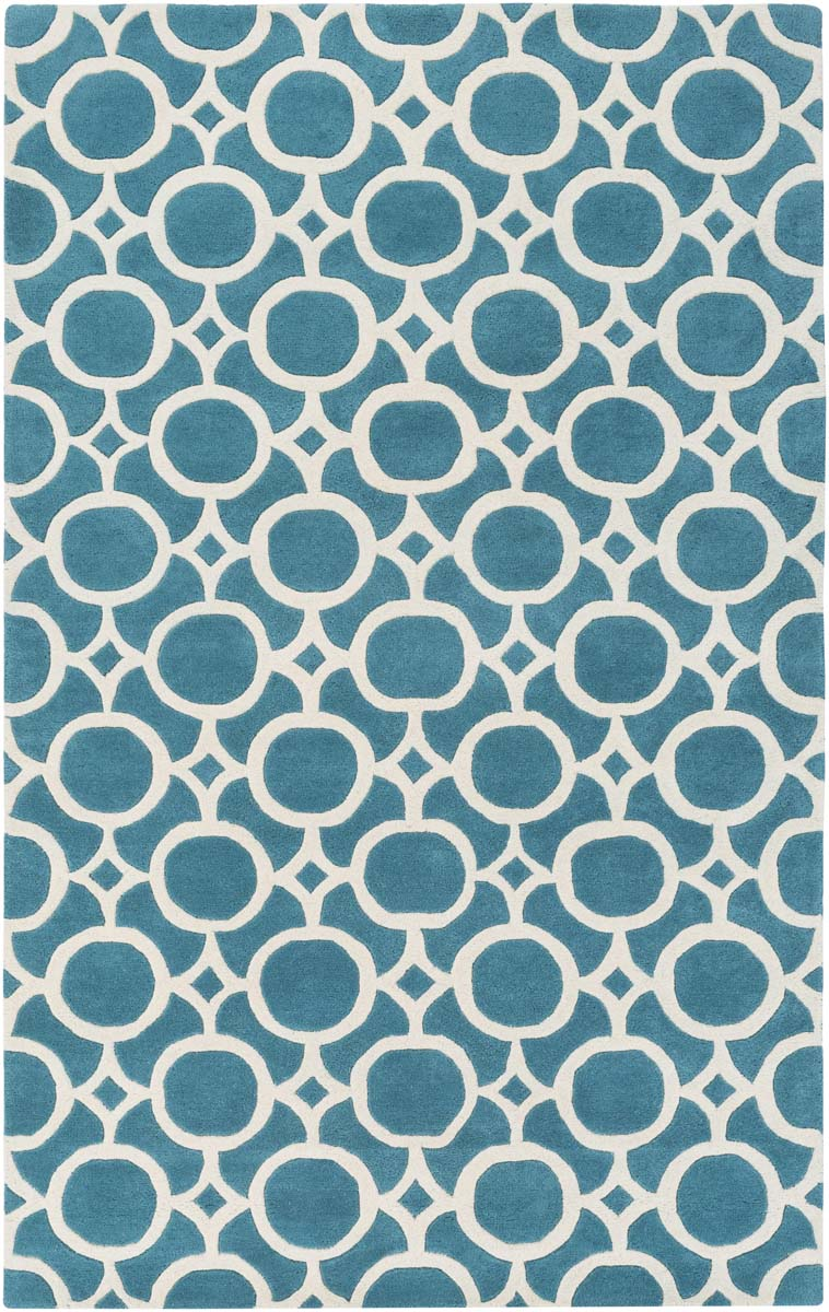 Artistic Weavers Transit AWTR-2328 Taylor Turquoise Ivory Rug