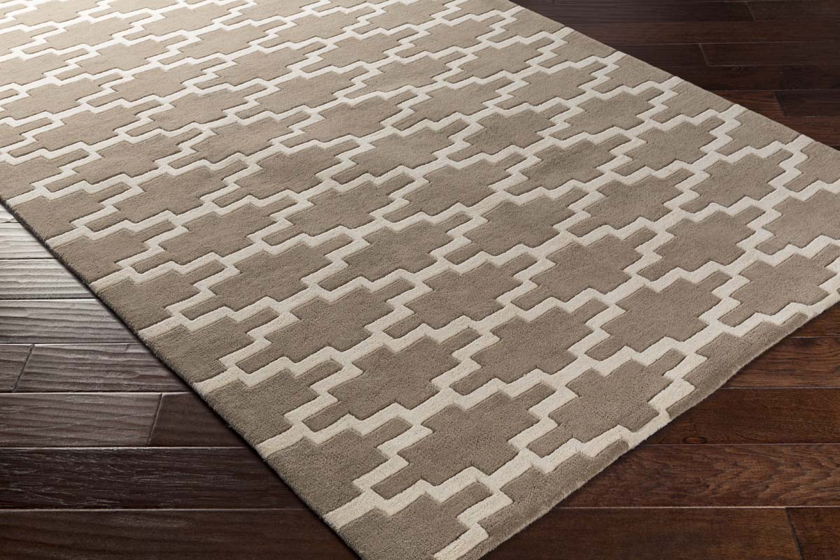 Artistic Weavers Transit AWTR-2333 Clark Taupe Ivory Rug