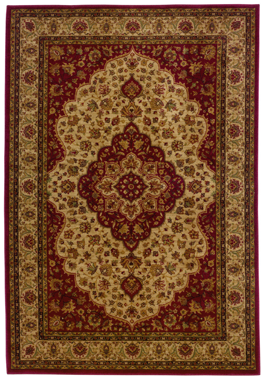 Oriental Weavers Sphinx Allure 011d1 Red Beige Rug