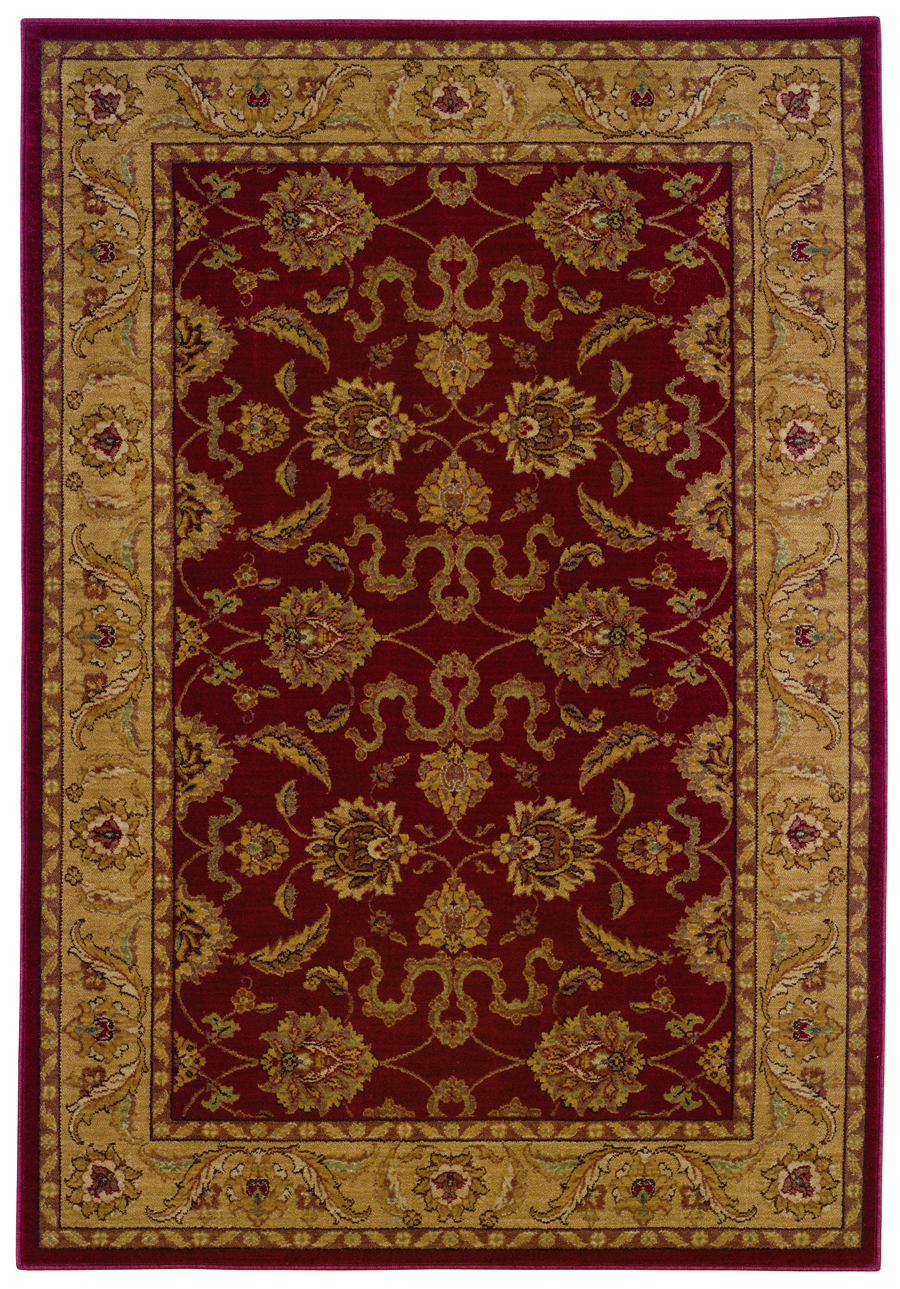 Oriental Weavers Sphinx Allure 012d1 Red Rug