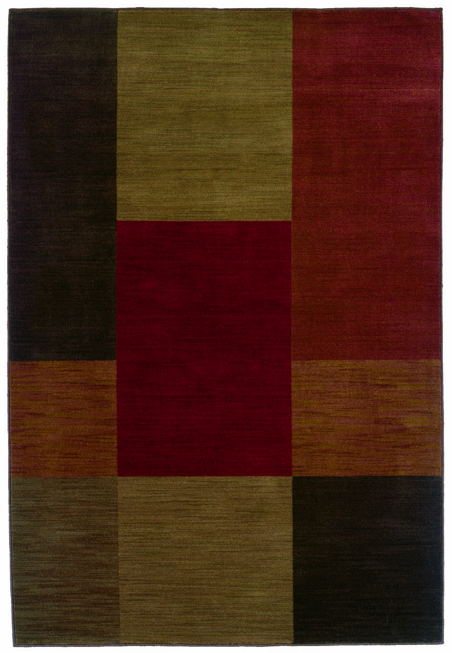 Oriental Weavers Sphinx Allure 015a1 Red Multi Rug