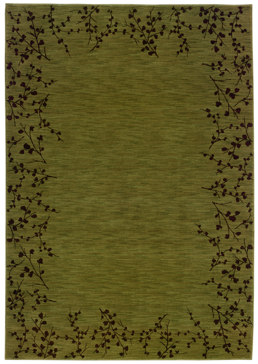 Oriental Weavers Sphinx Allure 004e1 Green Rug
