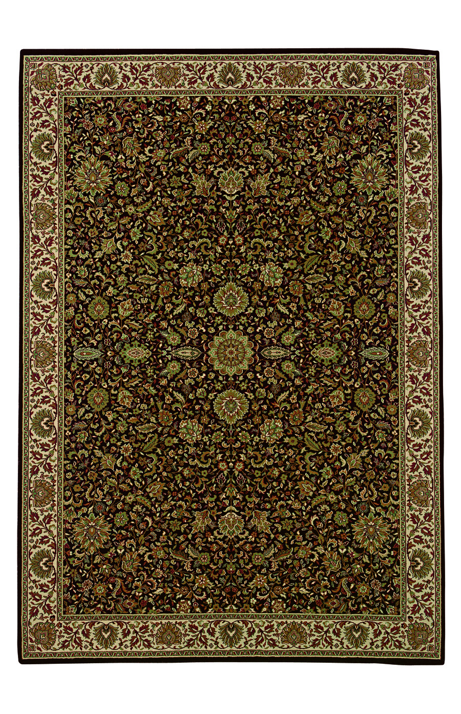 Oriental Weavers Sphinx Ariana 172d Dark Brown Rug