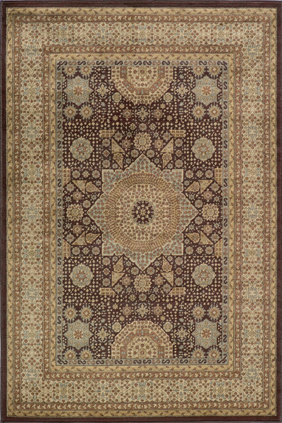 Belmont BE-03 Brown Rug by Momeni